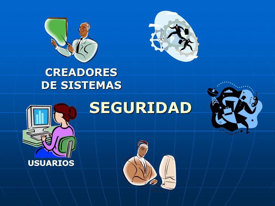 CREADORES DE SISTEMAS SEGURIDAD USUARIOS