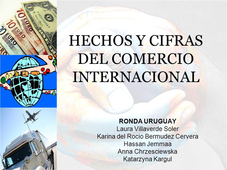 HECHOS Y CIFRAS DEL COMERCIO INTERNACIONAL