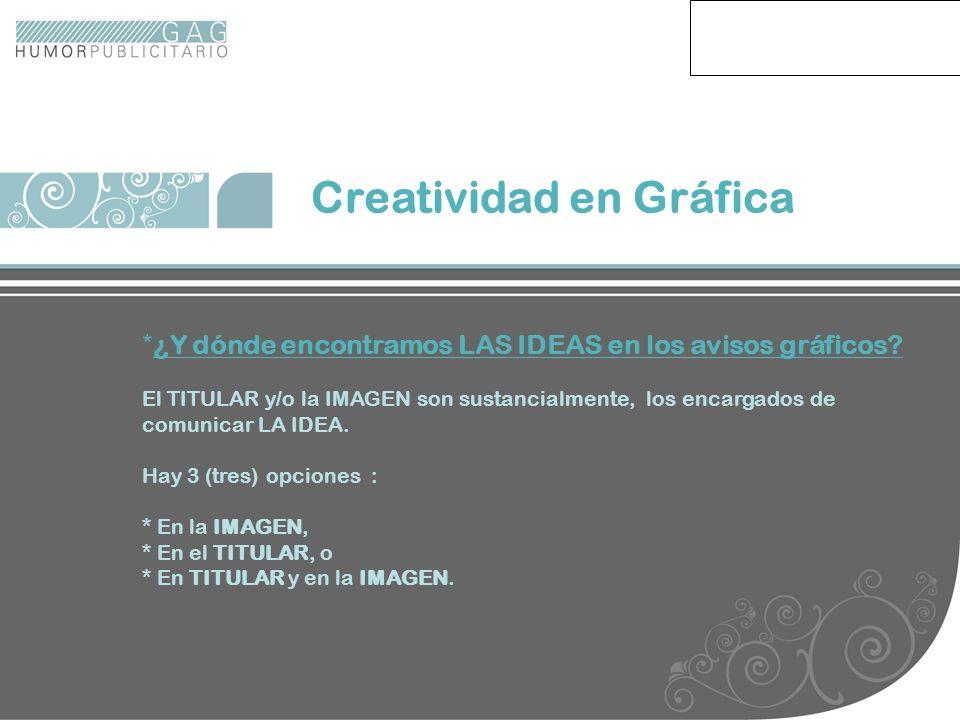 Creatividad en Gráfica