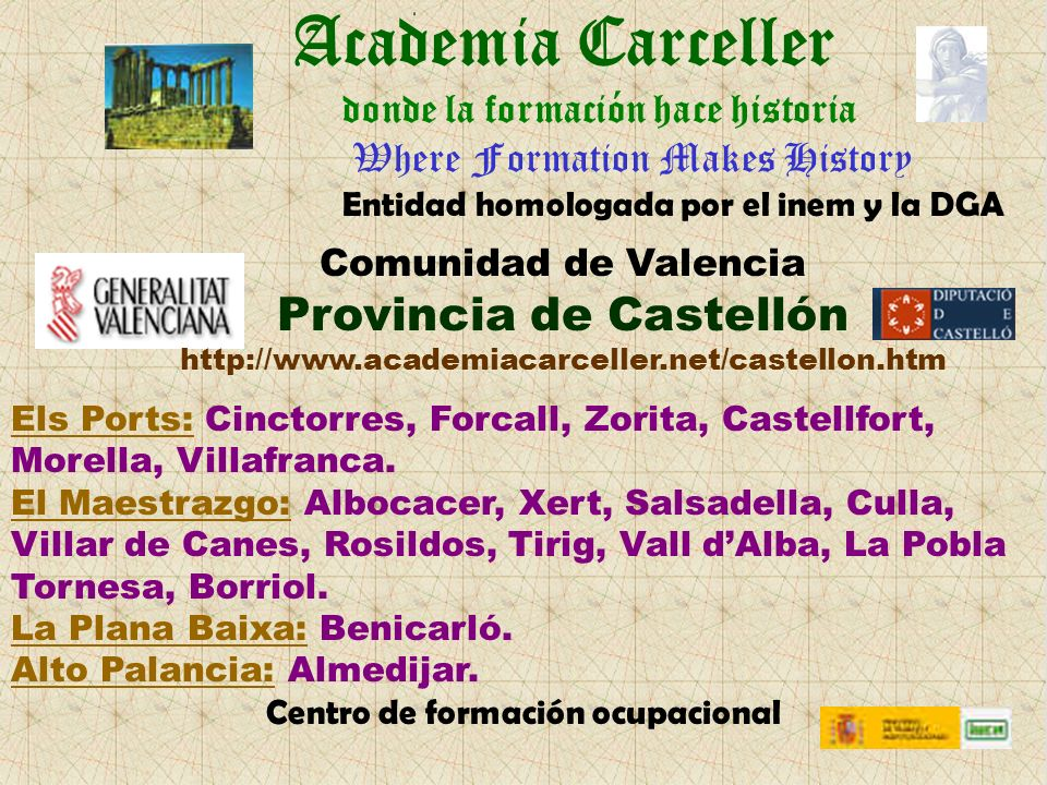 Academia Carceller Provincia de Castellón