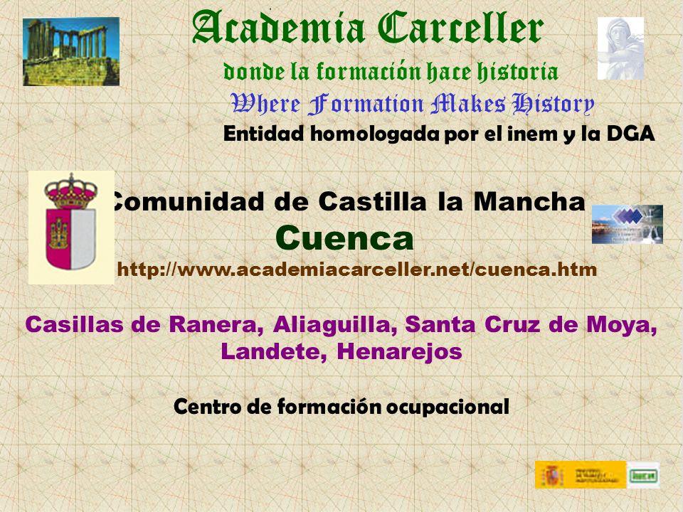 Academia Carceller Cuenca donde la formación hace historia