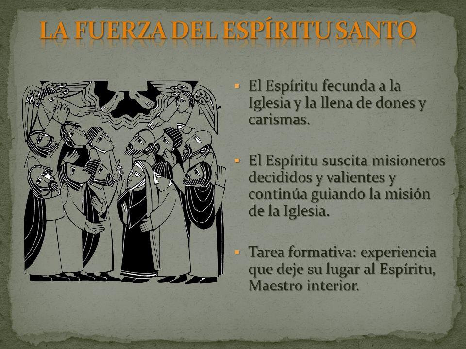 LA FUERZA DEL ESPÍRITU SANTO