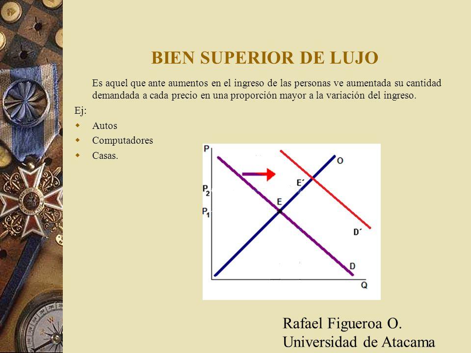 BIEN SUPERIOR DE LUJO Rafael Figueroa O. Universidad de Atacama
