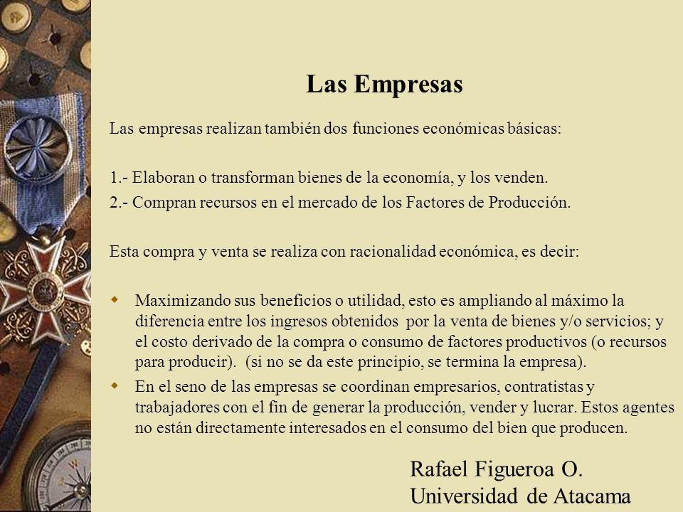 Las Empresas Rafael Figueroa O. Universidad de Atacama