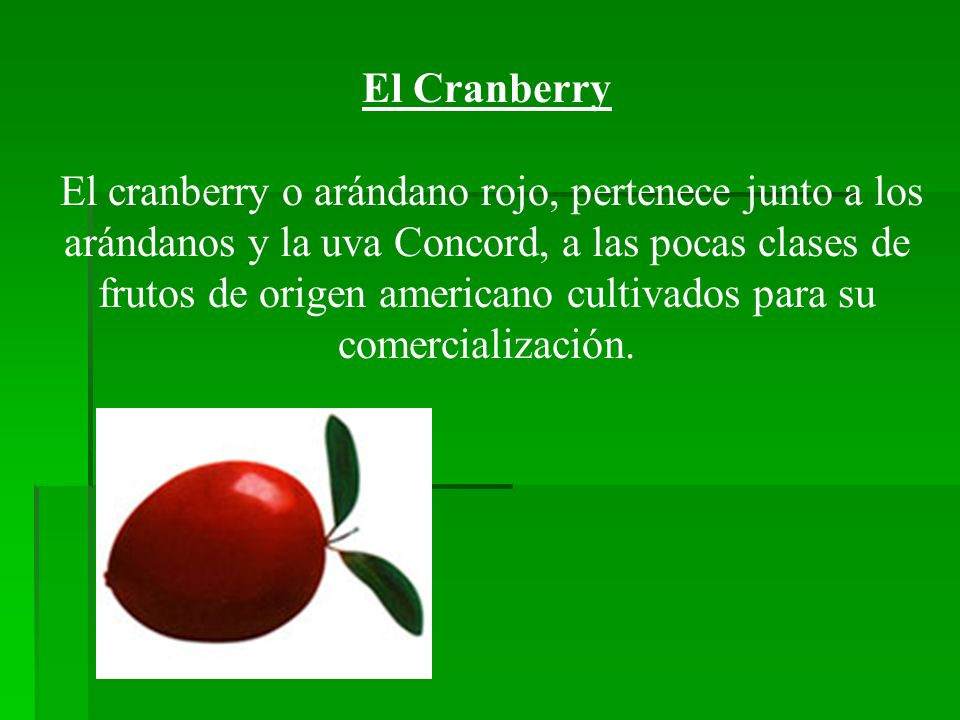 El Cranberry