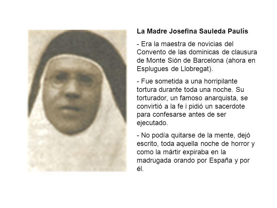 La Madre Josefina Sauleda Paulís