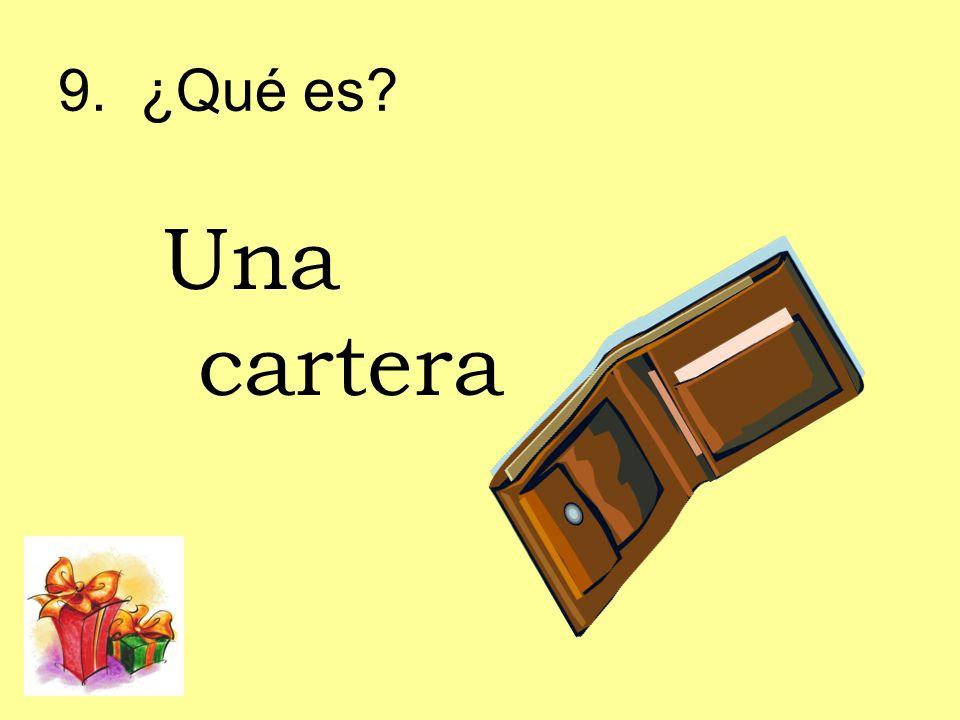 9. ¿Qué es Una cartera