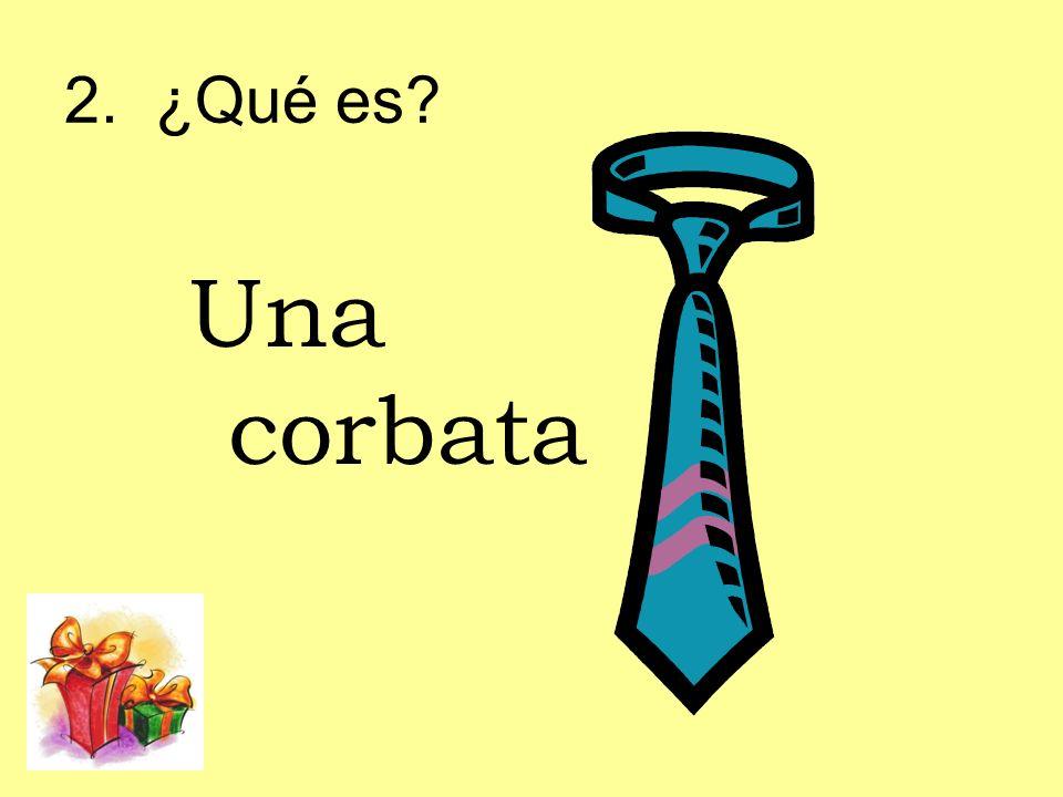2. ¿Qué es Una corbata