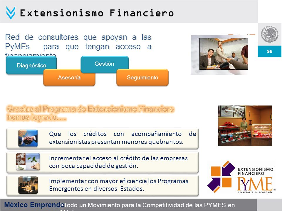 Extensionismo Financiero