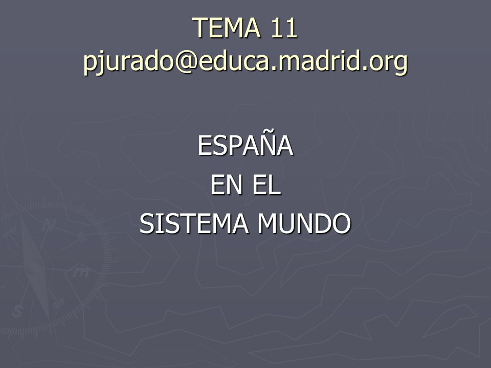 TEMA 11 pjurado@educa.madrid.org