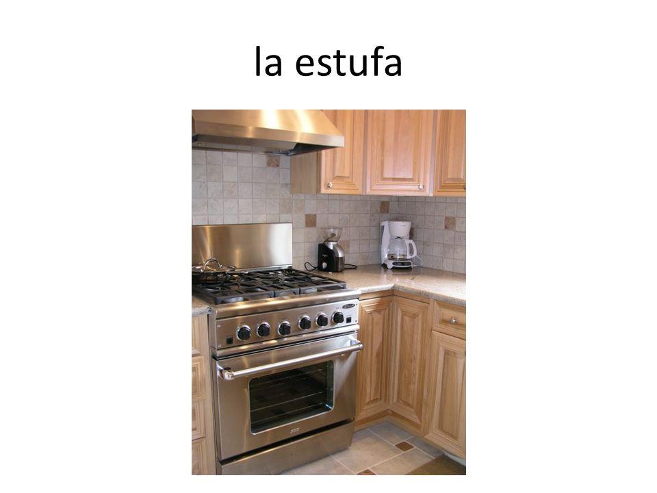 la estufa