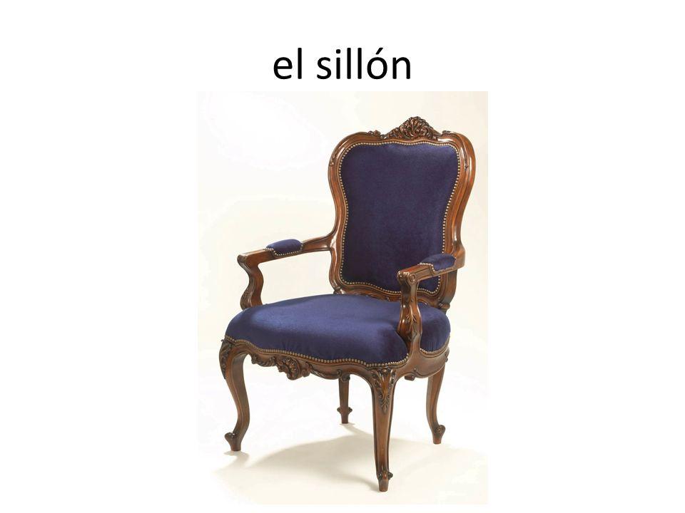 el sillón