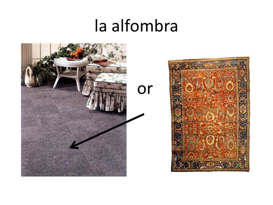 la alfombra or