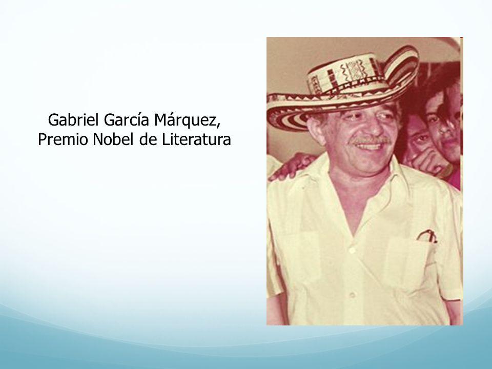 Gabriel García Márquez, Premio Nobel de Literatura