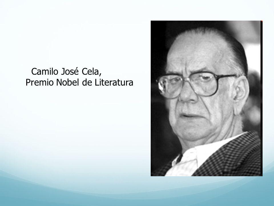 Camilo José Cela, Premio Nobel de Literatura
