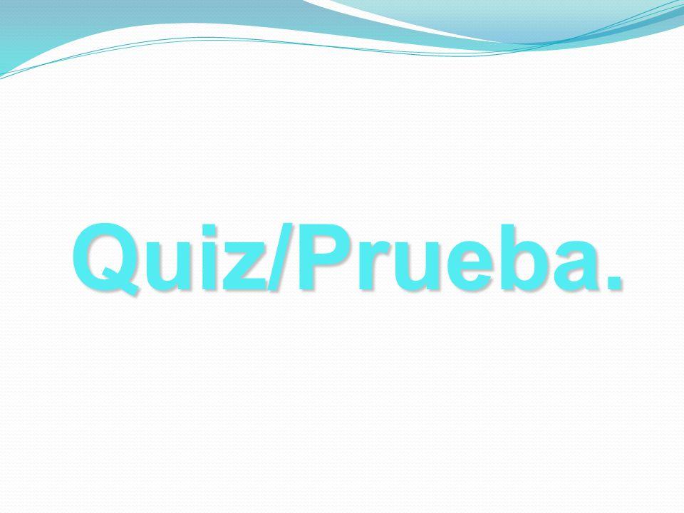 Quiz/Prueba.