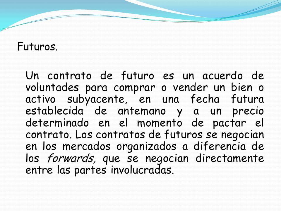Futuros.