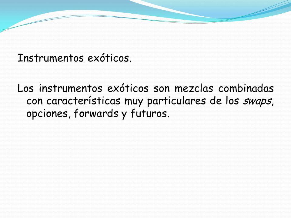 Instrumentos exóticos.