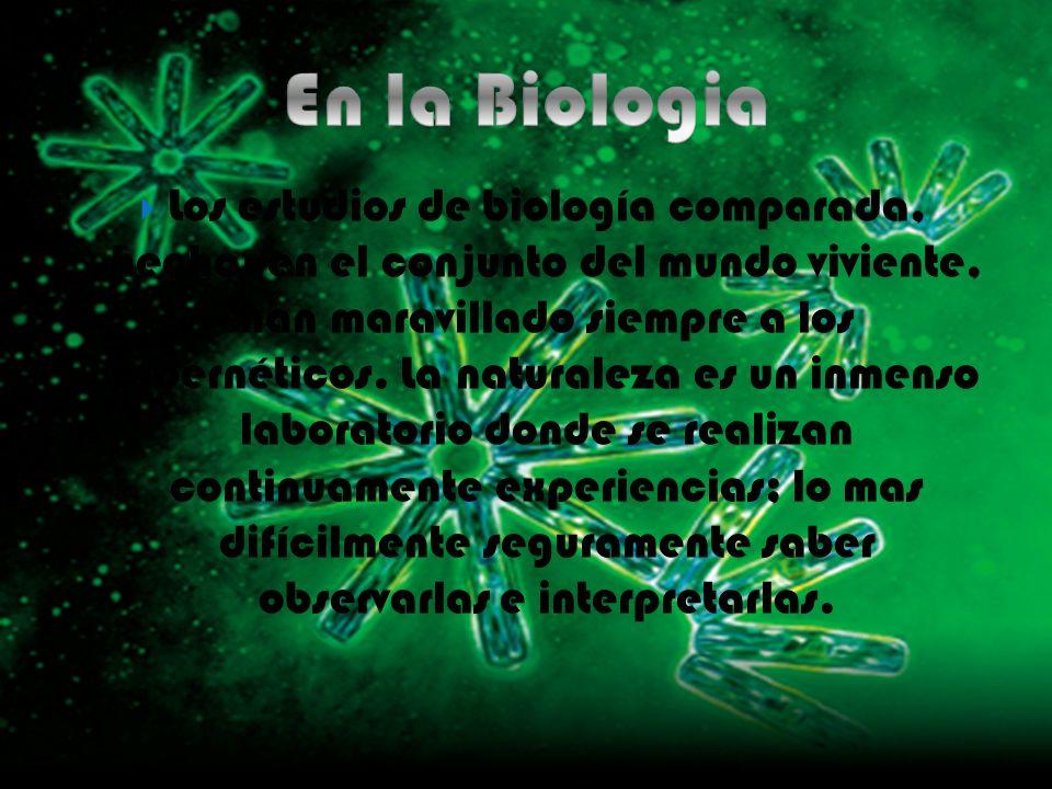 En la Biologia