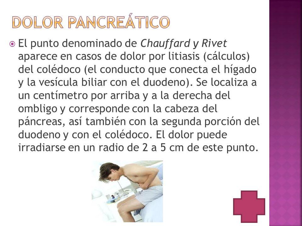 Dolor pancreático