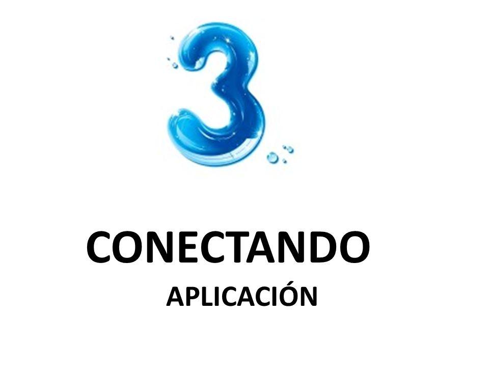 CONECTANDO APLICACIÓN
