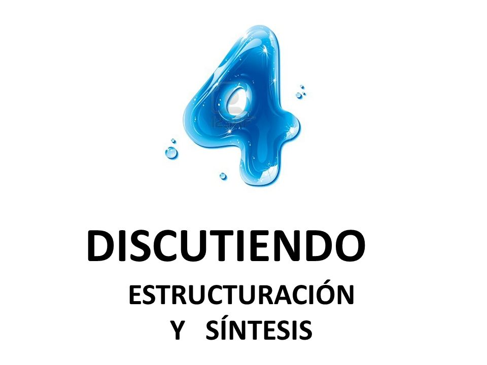 DISCUTIENDO ESTRUCTURACIÓN Y SÍNTESIS