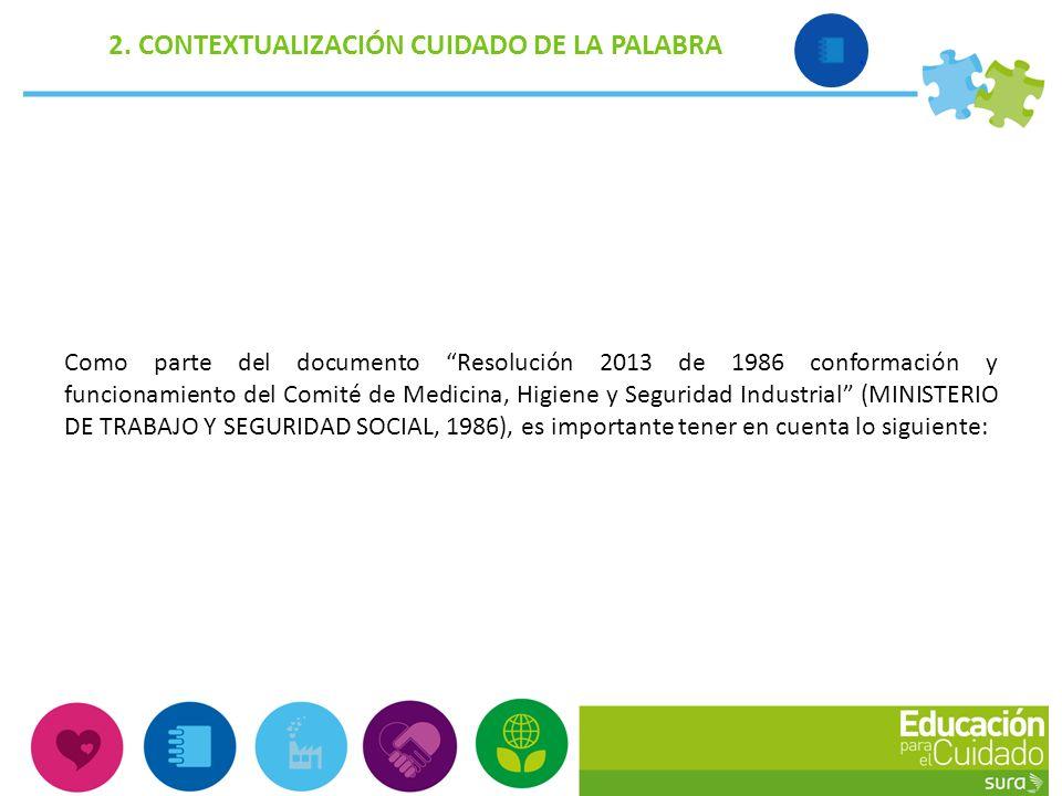 Comit paritario de seguridad y salud en el trabajo ppt for Pagina de ministerio de seguridad