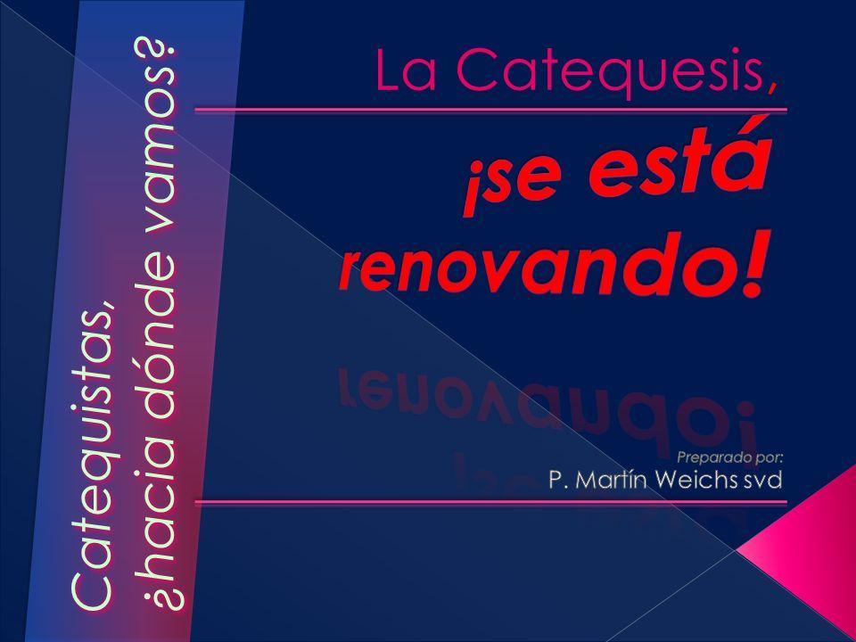 Preparado por: P. Martín Weichs svd