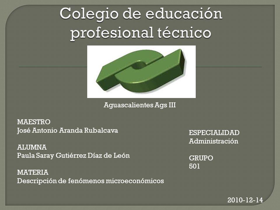 Colegio de educación profesional técnico