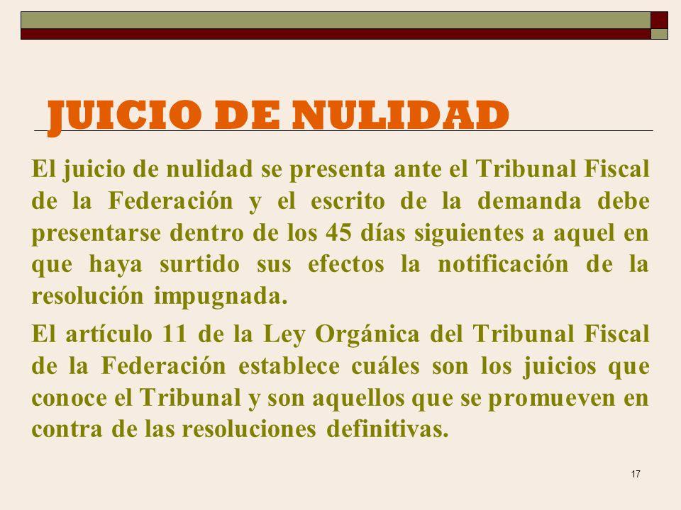 29/03/2017 JUICIO DE NULIDAD.