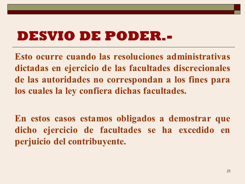 29/03/2017 DESVIO DE PODER.-
