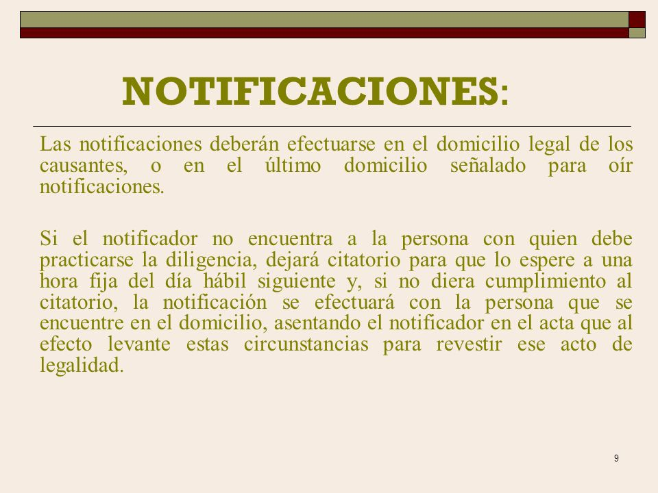 29/03/2017 NOTIFICACIONES: