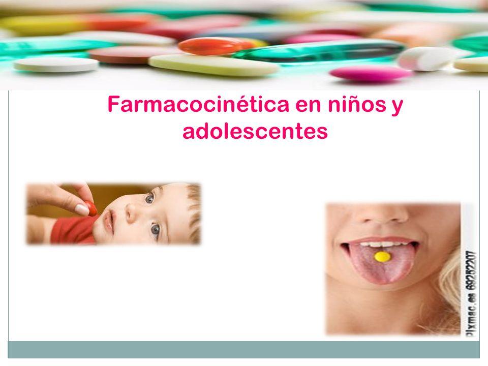 Farmacocinética en niños y adolescentes
