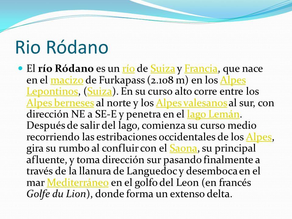 Rio Ródano