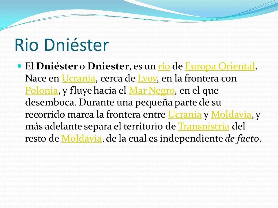 Rio Dniéster