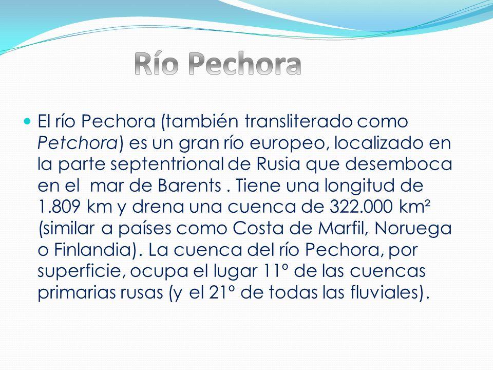 Río Pechora
