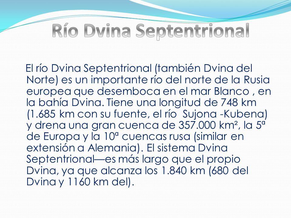 Río Dvina Septentrional
