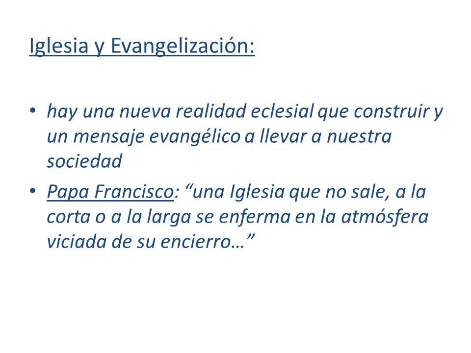 Iglesia y Evangelización: