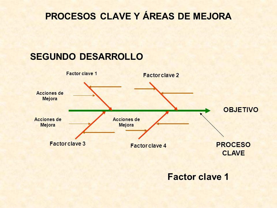 PROCESOS CLAVE Y ÁREAS DE MEJORA