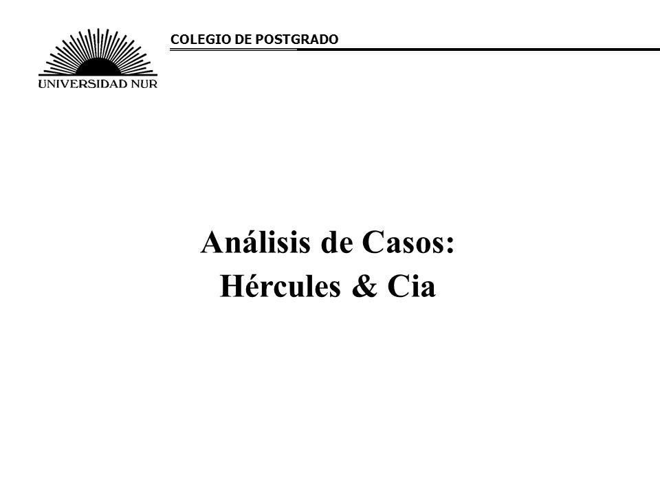 Análisis de Casos: Hércules & Cia