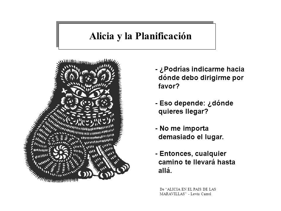 Alicia y la Planificación