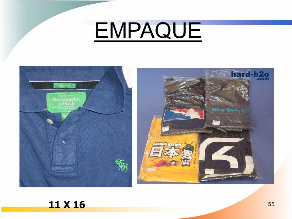 EMPAQUE 11 X 16