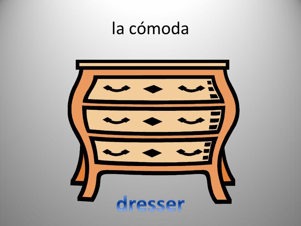 la cómoda dresser