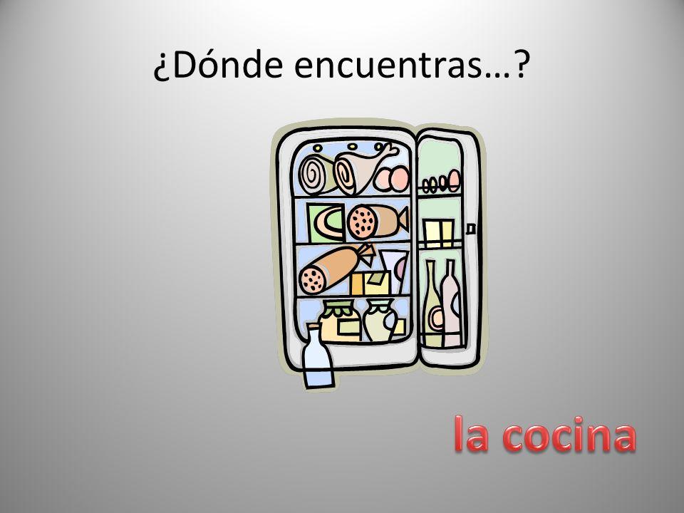 ¿Dónde encuentras… la cocina