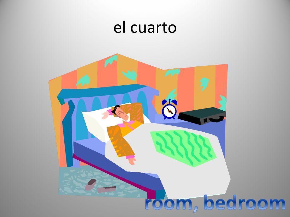 el cuarto room, bedroom