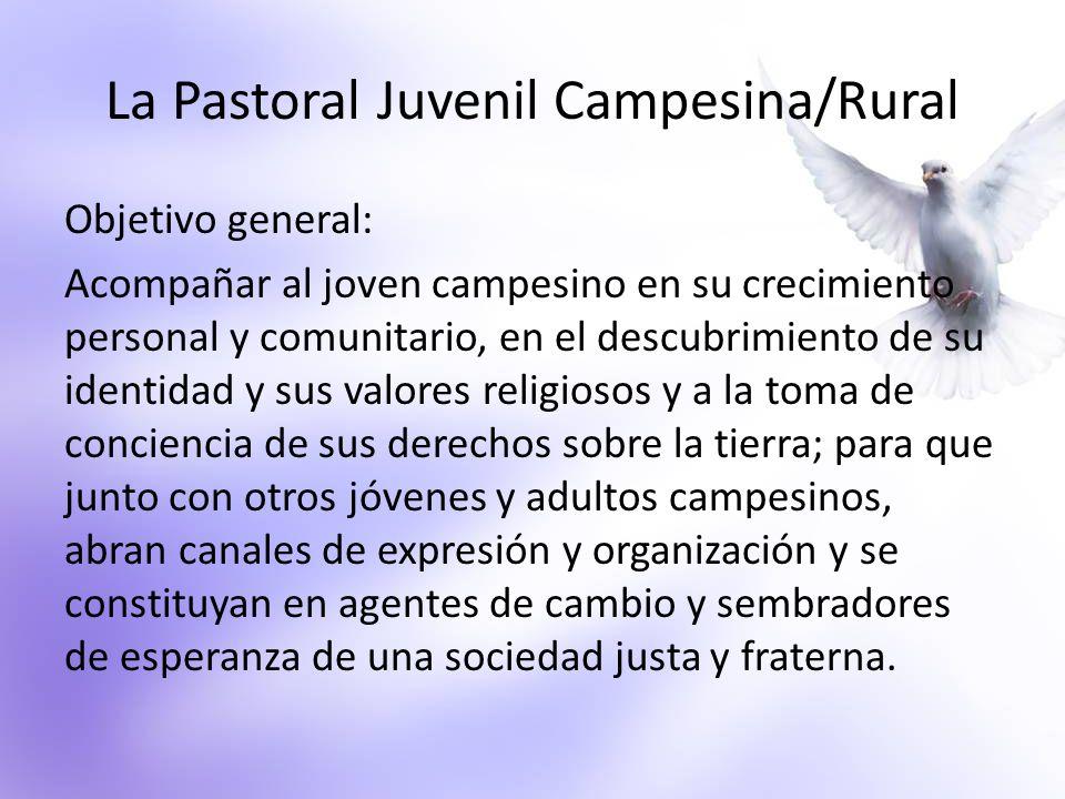 La Pastoral Juvenil Campesina/Rural