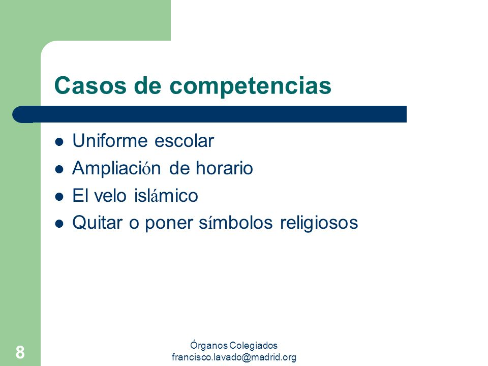 Órganos Colegiados francisco.lavado@madrid.org