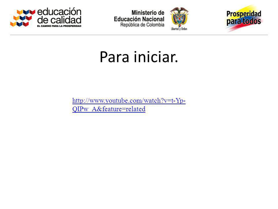 Para iniciar. http://www.youtube.com/watch v=t-Yp-QIPw_A&feature=related