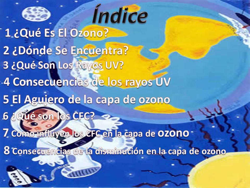 Índice 1 ¿Qué Es El Ozono 2 ¿Dónde Se Encuentra