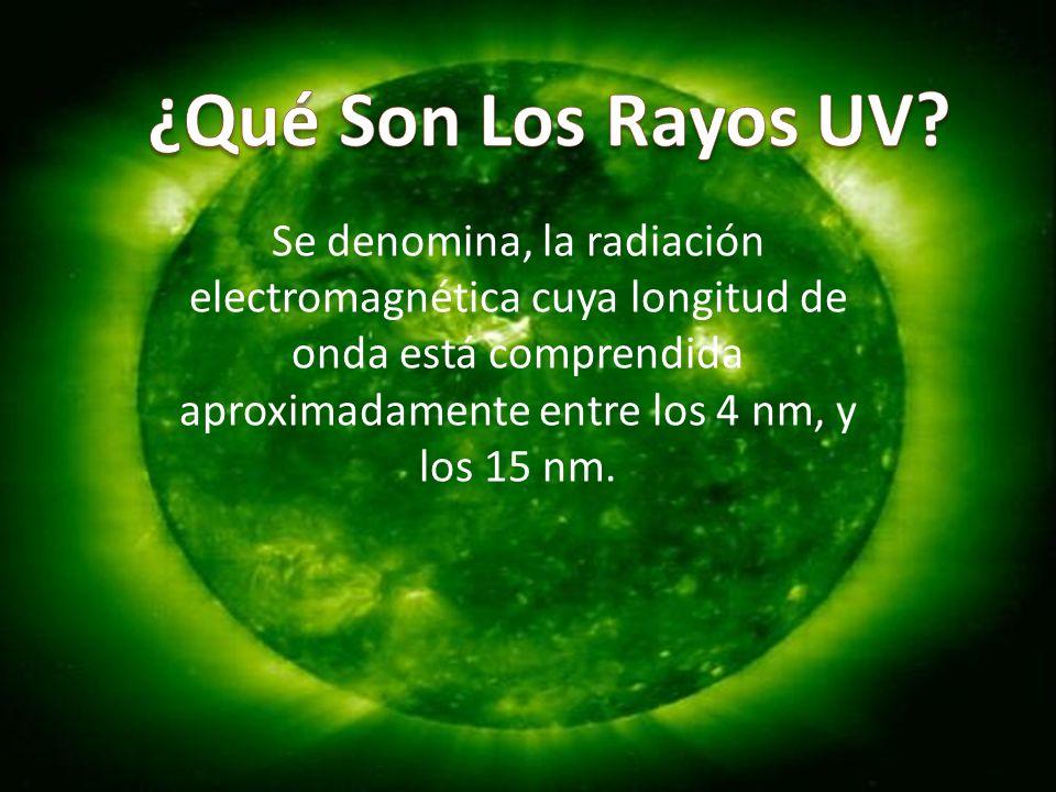 ¿Qué Son Los Rayos UV.